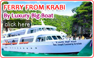 Ferry from Krabi by Luxury Boat