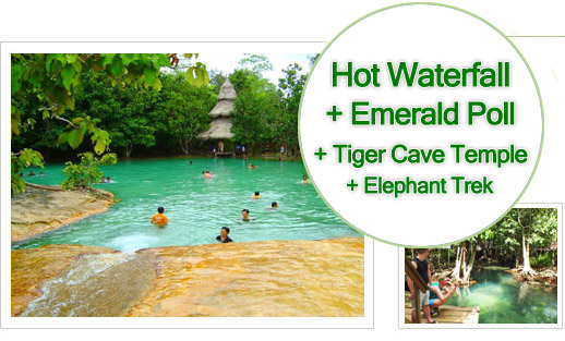 Hotspring Water Emerald Pool Tiger Cave Temple