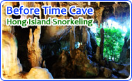 Before Time Cave and Hong Island Snorkeling