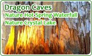 Dragon Caves Nature Hot Spring Waterfall Nature Crystal Lake