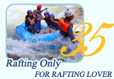 Rafting Only For Rafting Lover by JC Tour