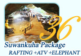 Suwankuha Package Rafting ATV Elephant Trekking