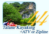 Talane Kayaking and ATV or Zipline