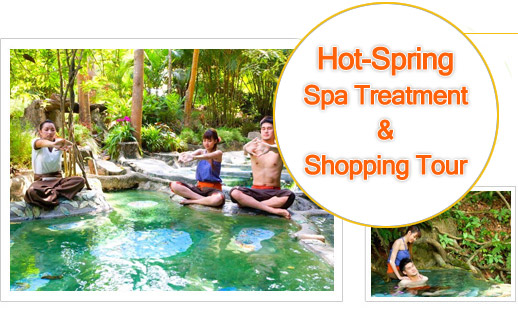 Hot Spring Spa Treatment and Shopping