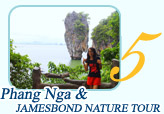 Phangnga and Jamesbond Discovery